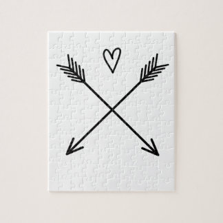 Hearts & Arrows Jigsaw Puzzle