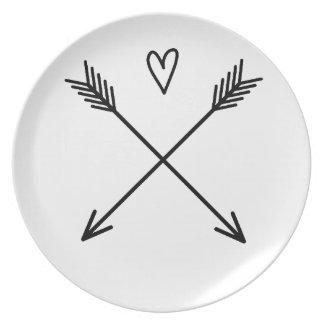 Hearts & Arrows Plate