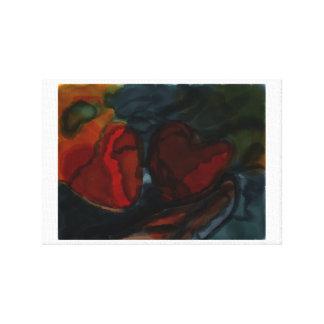 Hearts art Piece Canvas Print
