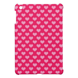 Hearts Background Wallpaper Pink iPad Mini Case