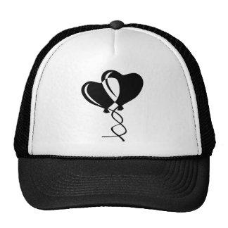 Hearts Balloons Hats