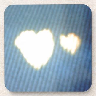Hearts Beverage Coaster