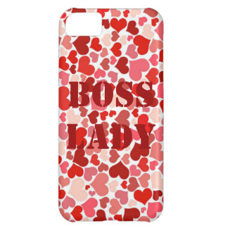 Hearts Boss Lady iPhone Case iPhone 5C Covers