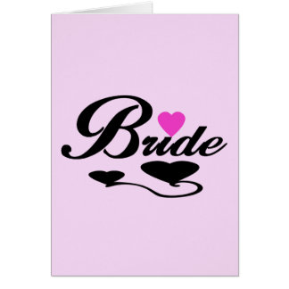 Hearts Bride T-shirts and Gifts Cards