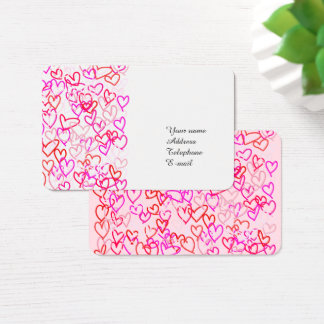 Hearts Business Card