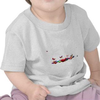 Hearts&Butterflies size 2 t-shirt for girls