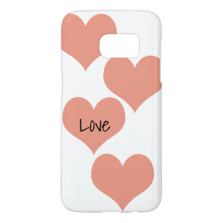 Hearts Cell Phone Case