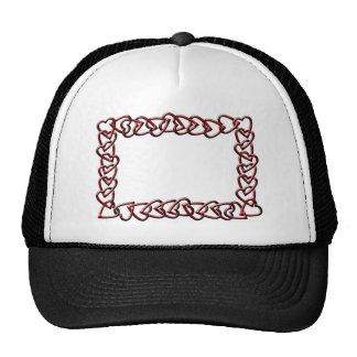 Hearts Chain Frame Cap