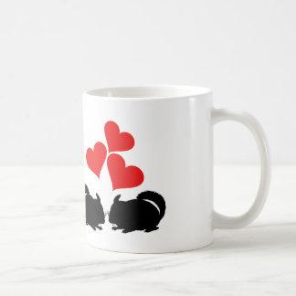 Hearts & Chinchillas Coffee Mug