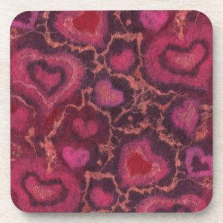 Hearts Coasters