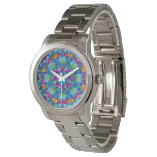 Hearts Colorful Vintage Womens Watch