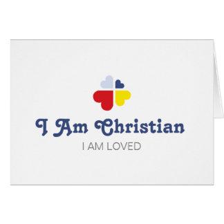 Hearts Cross Card