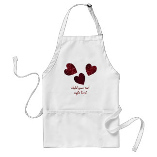 Hearts Customizable Apron