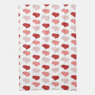 Hearts Dish Towel