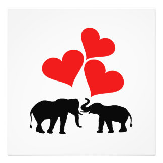 Hearts & Elephants Photograph