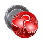 Hearts for Love 6 Cm Round Badge