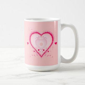 Hearts for the St. Valentine's day - Basic White Mug