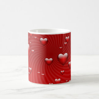 Hearts for the St. Valentine's day - Mugs