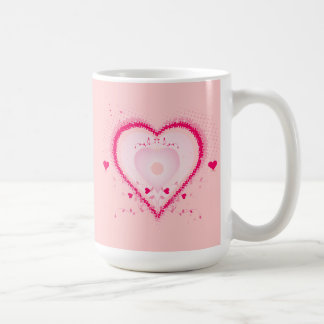 Hearts for the St. Valentine's day - Coffee Mugs