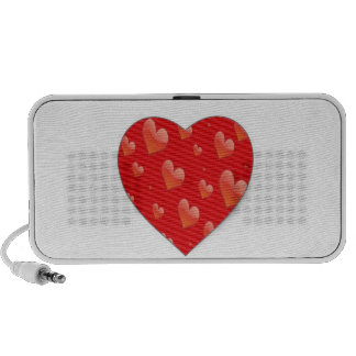 """""""Hearts for You"""" mp3 Speakers"""