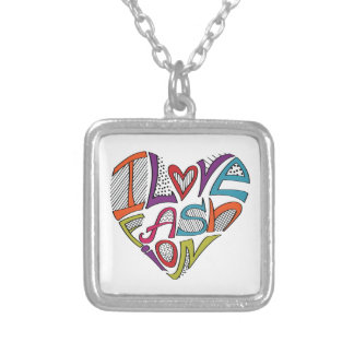 Hearts from words I love fashion Necklaces