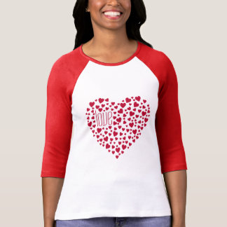 Hearts Full of Hearts Love Red T-Shirt