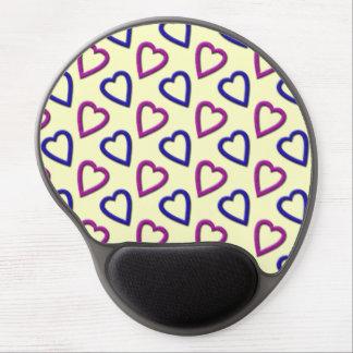 Hearts Gel Mousepad Gel Mouse Mats