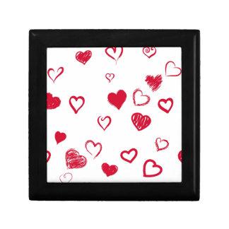 hearts gift box