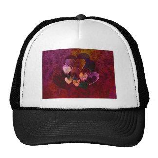 Hearts Gifts | Burgundy Trucker Hats