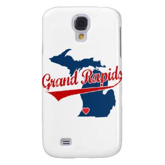Hearts Grand Rapids Michigan Samsung Galaxy S4 Covers