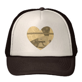 Hearts Hat