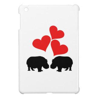 Hearts & Hippos Cover For The iPad Mini