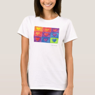 hearts in squares T-Shirt