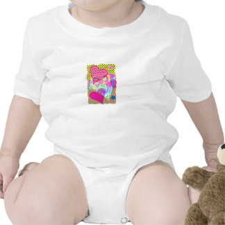 Hearts infant creeper