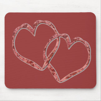 Hearts Intertwined - Customized Mouse Pad
