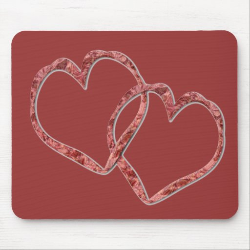 Hearts Intertwined - Customized Mouse Mats