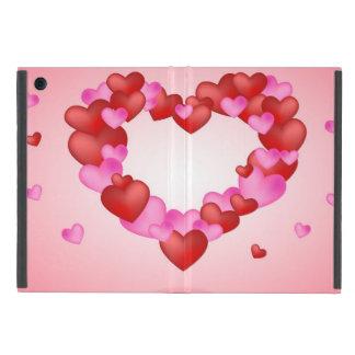 Hearts iPad Mini Case with No Kickstand
