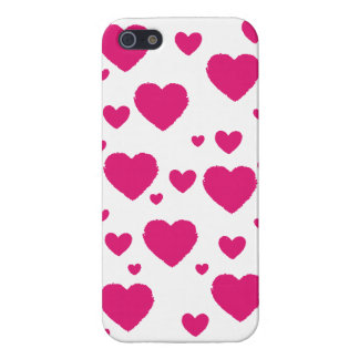 Hearts Iphone case Case For The iPhone 5