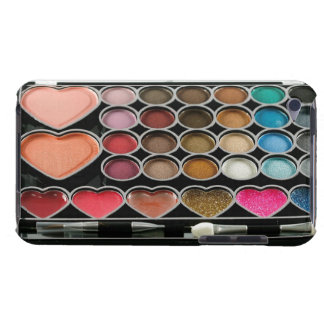 Hearts Makeup Kit iPod Touch Case