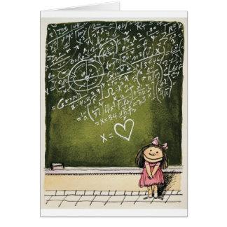 Hearts & Math Card