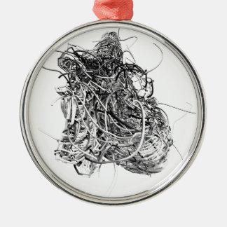 Hearts Metal Ornament