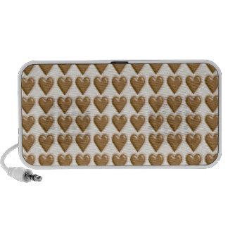 Hearts - Milk Chocolate and White Chocolate Mini Speakers