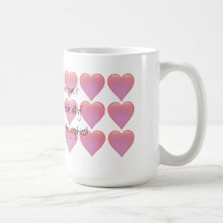 Hearts Mug - customise it!