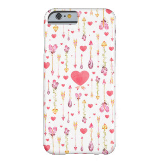 Hearts 'n' Arrows Valentine's Day Barely There iPhone 6 Case