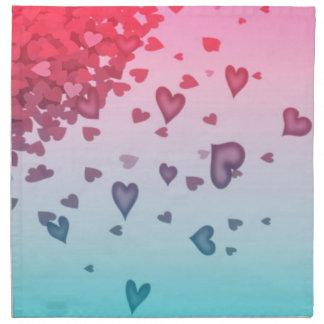 Hearts Of Hearts Napkin