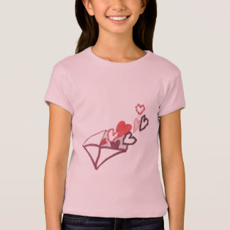 Hearts of Love Envelope T-Shirt