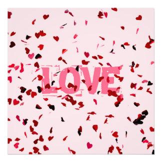 Hearts Of Love Photo Print