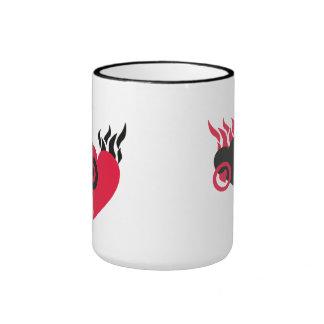 Hearts on Fire Mugs