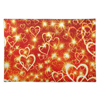 Hearts On Fire Placemat