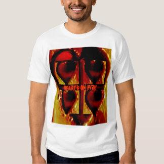 hearts on fire. shirts